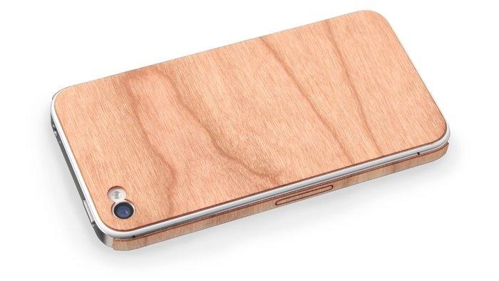 Wooden iPhone skin