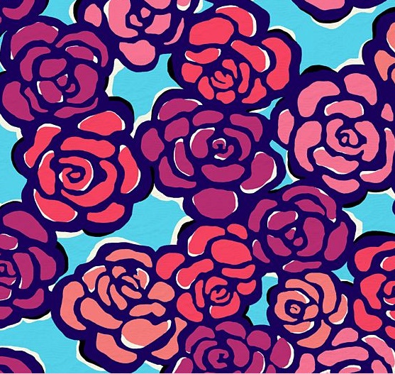 Lily Pulitzer. This my my second favorite pattern! (Right after AOII pattern!)