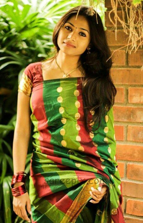 Actress-Jaqueline-prakash-saree-photo