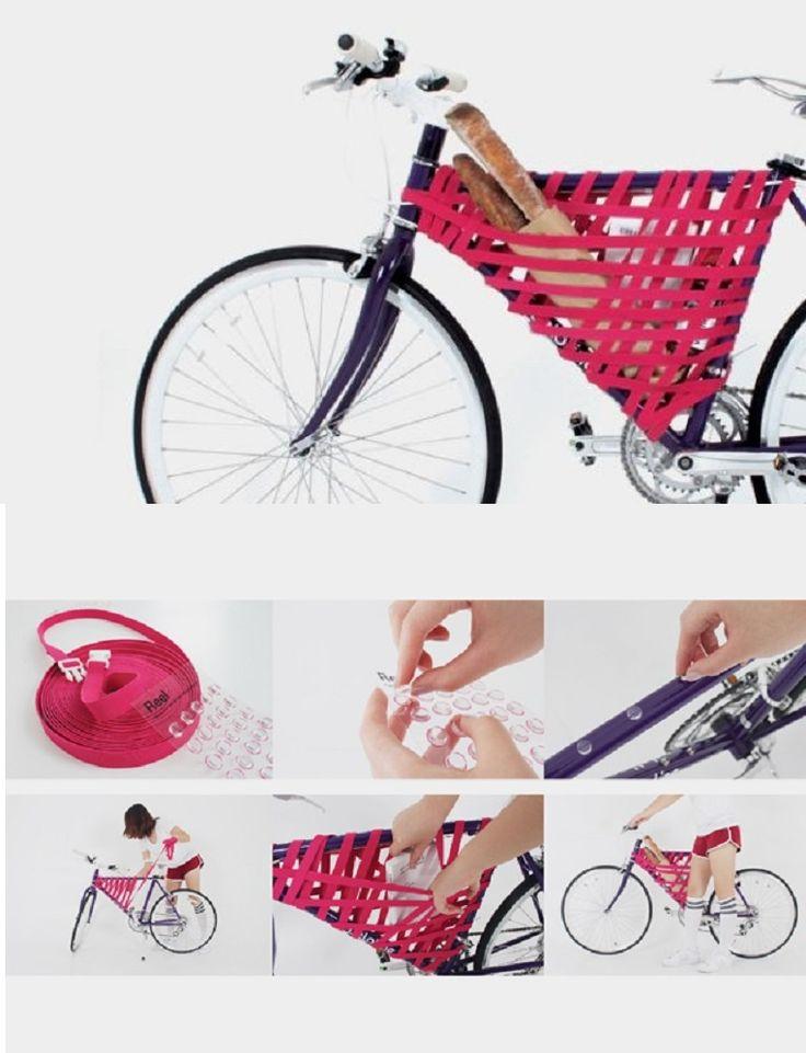 A Brilliant DIY Bike Storage Solution - 15 Chic DIY Ideas to Update Your Bike | GleamItUp