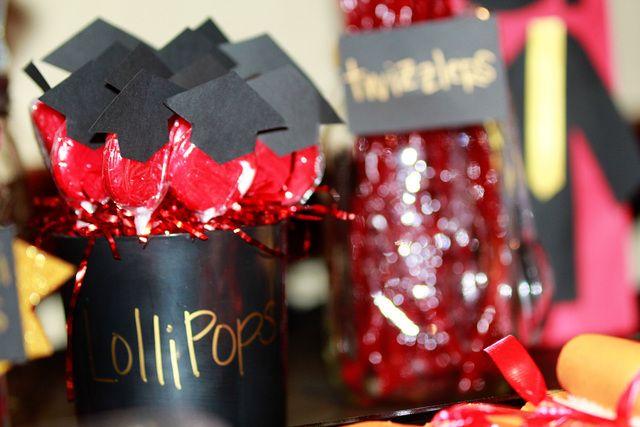 Lollipops at a Graduation Party #graduation #party