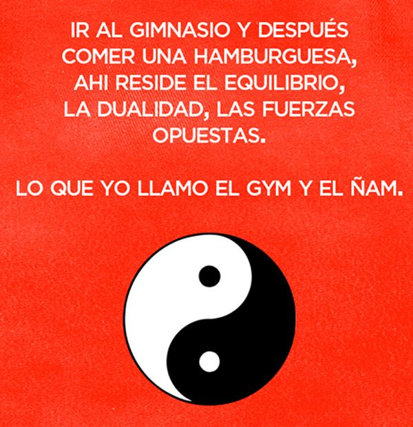 El gym y el Ñam