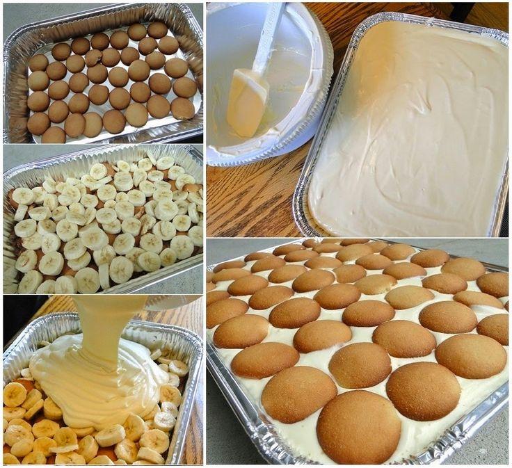 Get this all-star, easy-to-follow No-Bake Banana Pudding Pie recipe -->   http://wonderfuldiy.com/wonderful-diy-yummy-no-bake-banana-pudding/