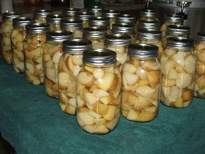 Canning Granny: Canning Potatoes (see more ideas for canned potatoes in the comments for this post)