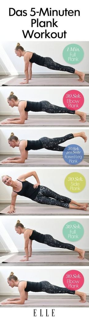 Planks: Diese Übungen definieren deinen Körper