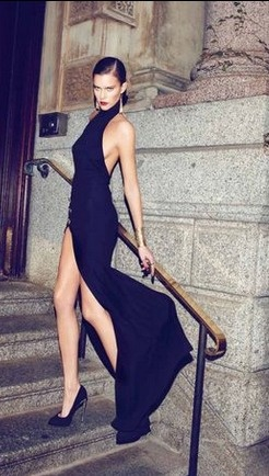 """Love this for """" after dark"""" evening dress . Maybe we slick your hair back as final shot , after some other images completed with flowing locks"""