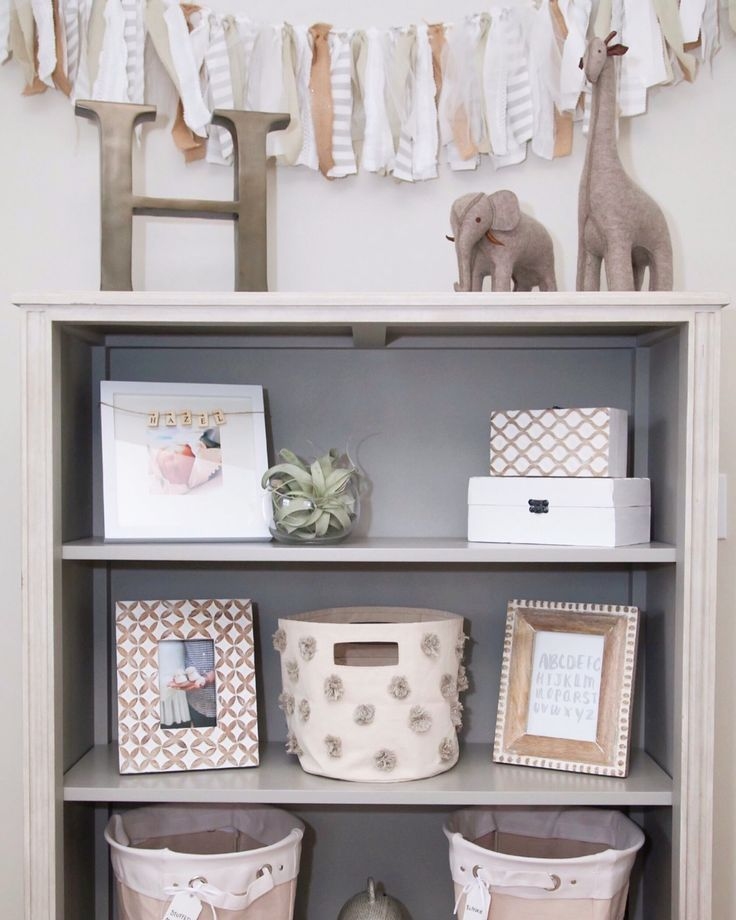 NEAT Method Blog- Another NEAT Nursery :: We have a new NEAT girl that we'd love to introduce you to! She isn't on the jobs just yet but she makes a pretty great office assistant and has one NEAT nursery that she'd like to share with you all. Meet Marissa's little lady, Hazel Rae Hagmeyer! Here are her top tips for how to keep a nursery in shape!