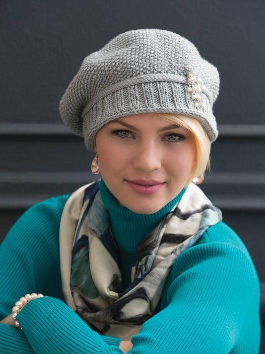 Free knitting pattern Slouchy Seed Stitch Hat and more free knitting patterns for slouchy hats at http://intheloopknitting.com/slouchy-hat-knitting-patterns/