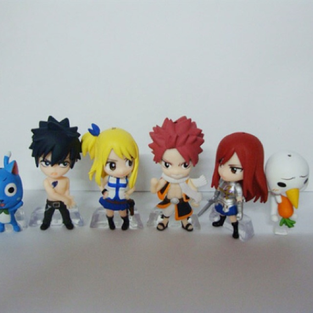 Fairy Tail Chibi Action Figures