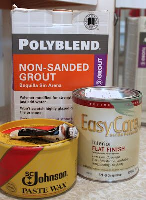 DIY chalk paint and dark wax..mix flat  paint with non-sanded grout.  The antiquing is a decades old technique  practiced by decorative painters.  A dab of burnt umber oil paint mixed with a dollopnof Johnson Paste Wax does the trick...