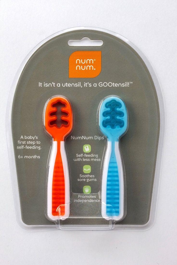 Amazon.com : Num Num Dips - Set of 2 : Baby Eating Utensils : Baby
