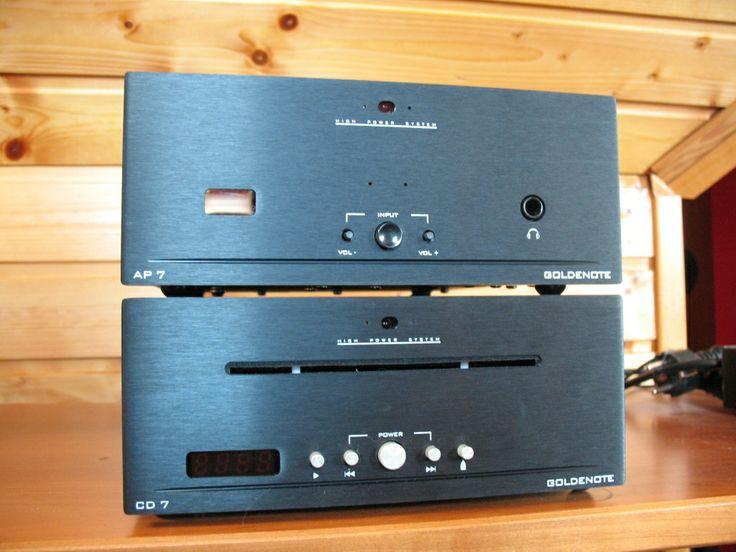 Goldnote Microline AP7 und CD7 altes Design