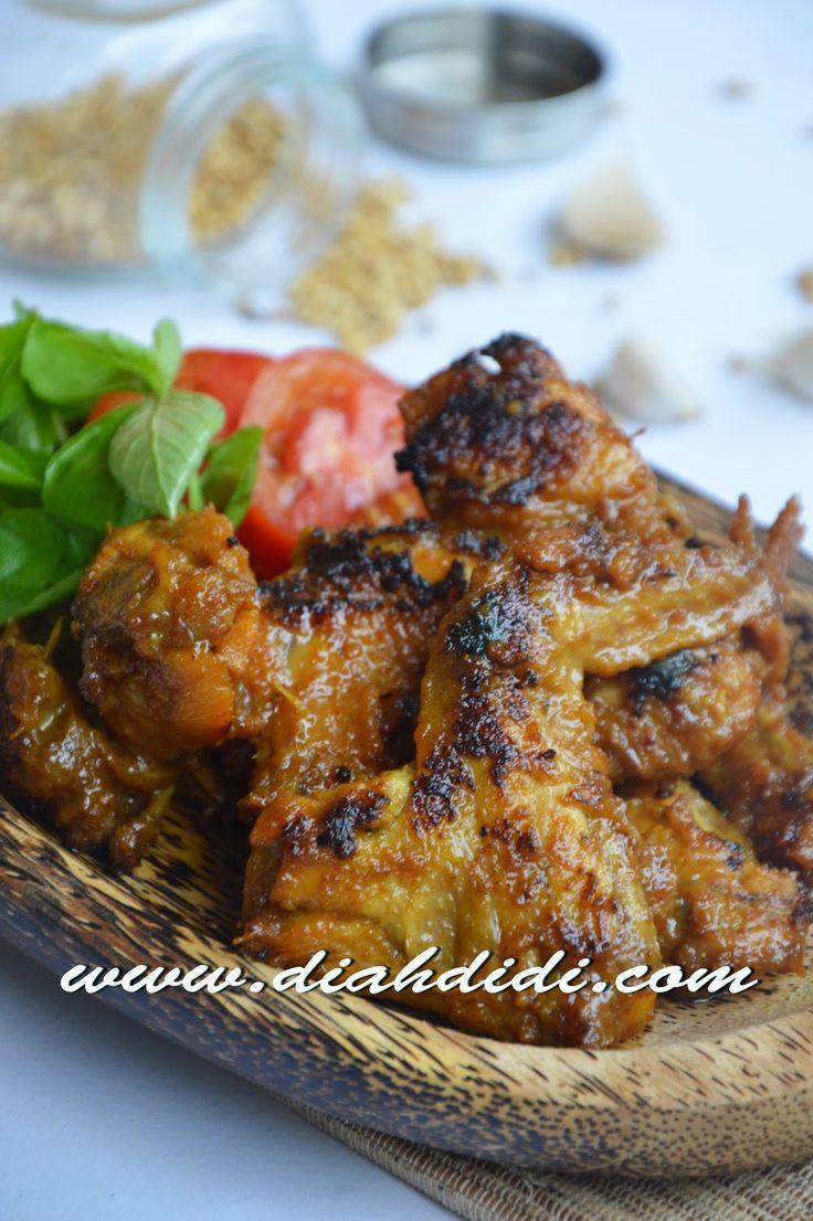 Diah Didi's Kitchen: Ayam Bakar Bumbu Opor