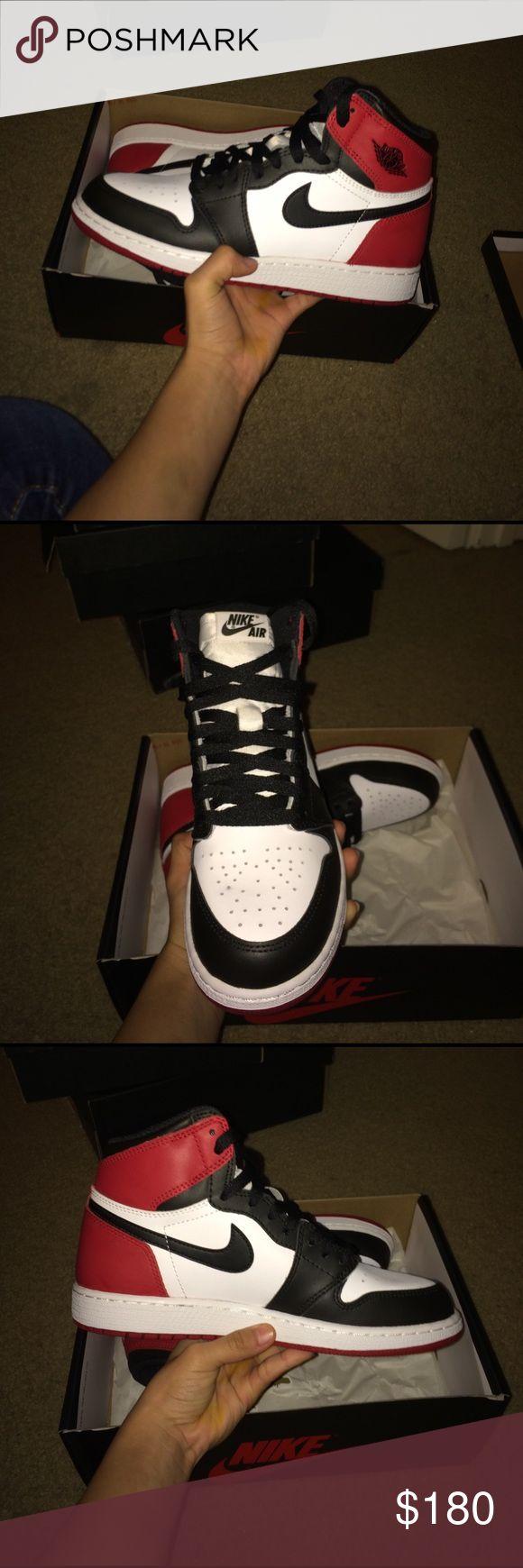 Jordan 1 black toe 10/10 condition size 6 Jordan Shoes