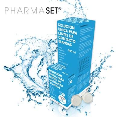 ¡Lo vas a ver claro! Pharmaset Solución Única para lentes de contacto blandas por sólo $6,80€