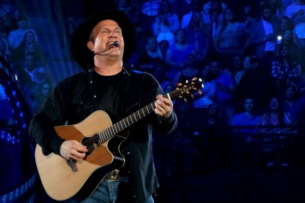 """April 19, 2015 ACM Awards - Garth Brooks says he may be forced to lip sync his way through his performance at the 2015 ACM Awards on Sunday (April 19) night. The singer is worried that five nights in Portland may steal his voice, so he has a backup plan. """"Just in case we have to lip sync, we taped a performance that was solely for the awards show,"""" Brooks told Storme Warren on SiriusXM's the Highway channel. Brooks is nominated in the Entertainer of the Year category."""