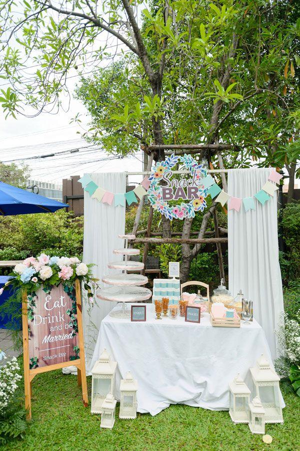 งานแต งในสวน ส ดอบอ นของค ณแอ ะ ค ณอาร ต 99 Rest Backyard Cafe ไอเด ยตกแต งงานแต งงาน Wedding Decoration Ideas Pinterest Decorations