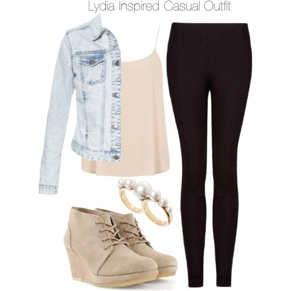 """""""Lydia Inspired Casual Outfit"""" by veterization on Polyvore"""