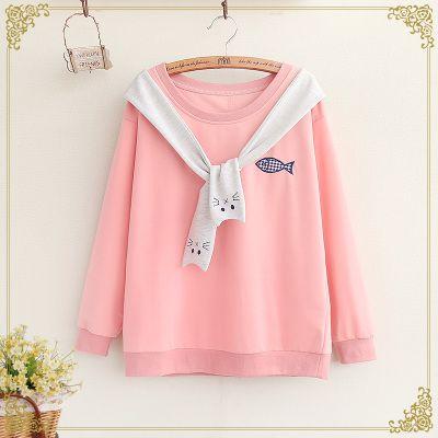 "Cute students sweatshirt SE9585   Coupon code ""cutekawaii"" for 10% off"