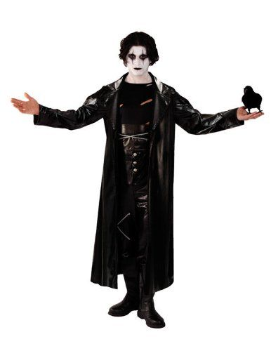 Gothic The Crow Avenger Fancy Dress Costume @ niftywarehouse.com #NiftyWarehouse #TheCrow #Crow #Movie #Film #Cult #CultMovies #CultFilms