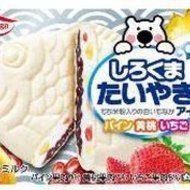 """「白くま」と""""たい焼きモナカ""""が初コラボ!? ワンハンドで食べられる「しろくまたいやきアイス」 - えん食べ"""