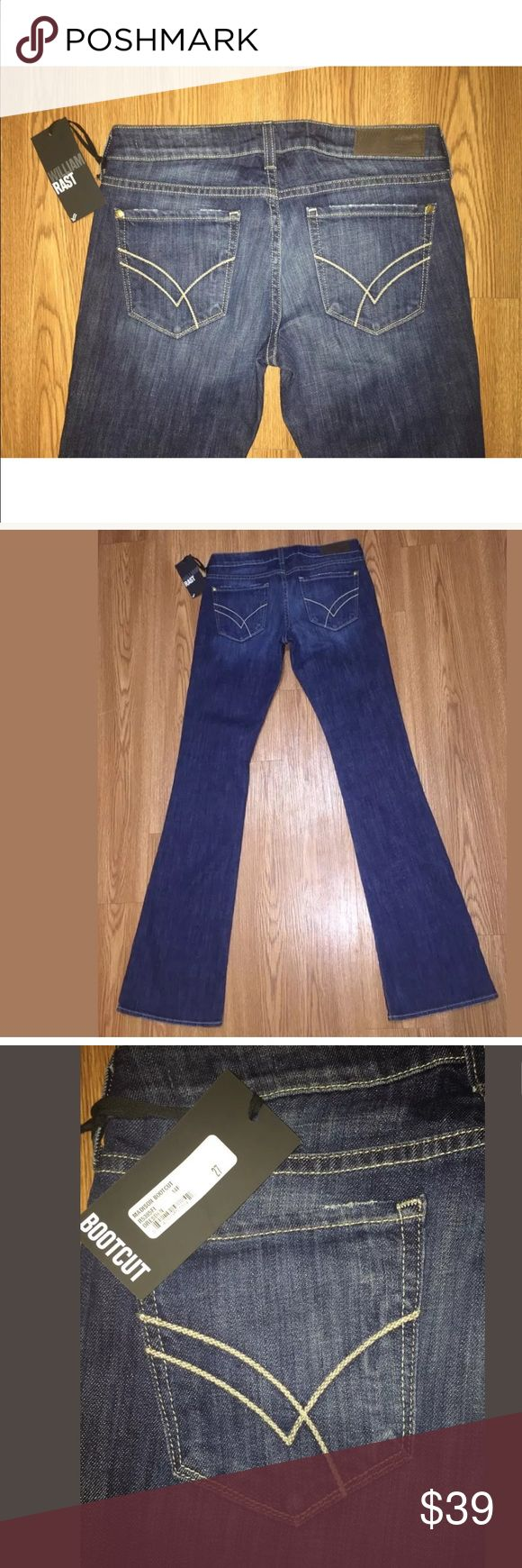 Vintage New William Rast Jeans X Madison Bootcut NWT