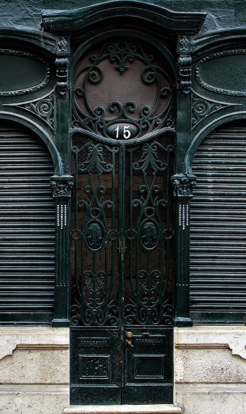 Black Door, Lisbon, Portugal