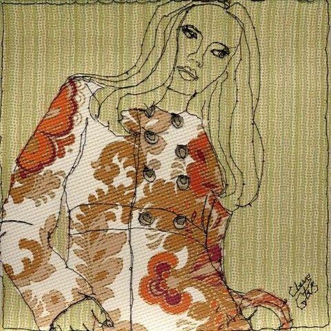 Claire Coles Textile Picture