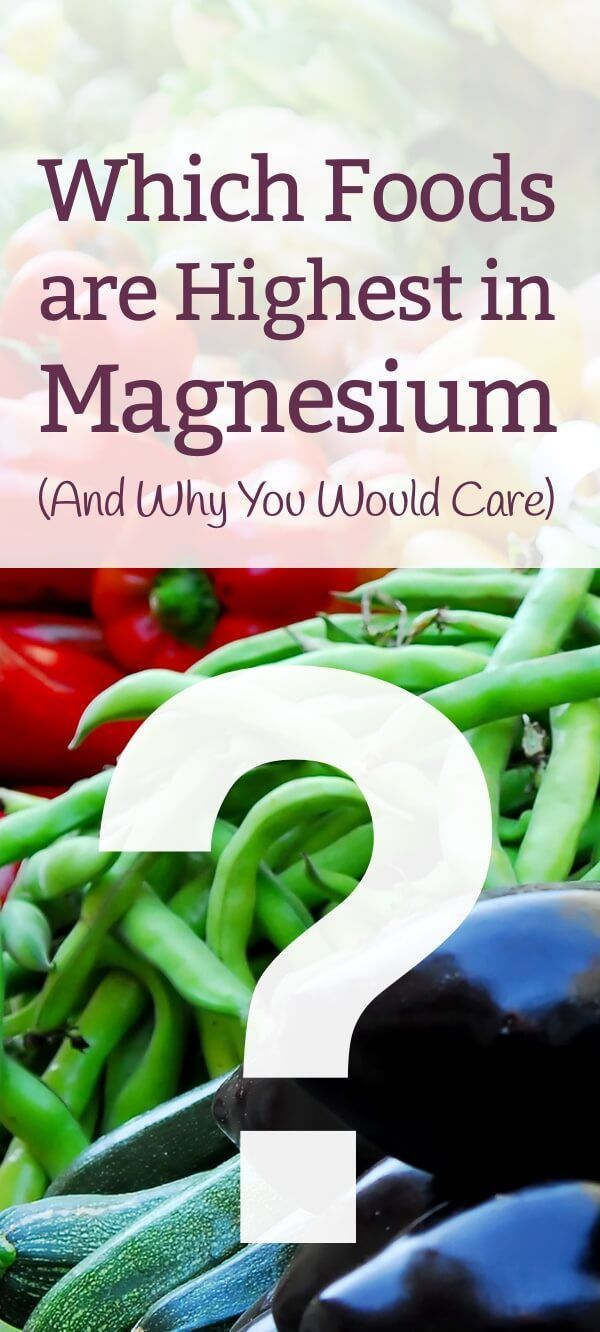 If, like 75% of the population, you are magnesium deficient, you'll want to add foods high in magnesium to your diet. Here are the very BEST sources http://www.mamanatural.com/foods-high-magnesium/