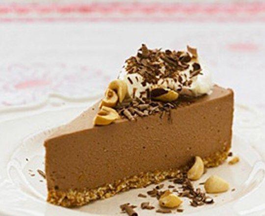 Chocolate and Roasted Hazelnut Cheesecake