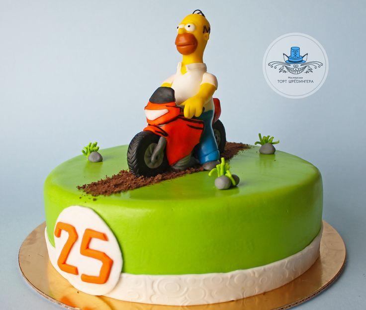 The Simpsons #тортшрёдингера #торт #cake