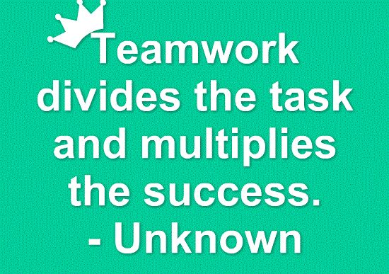 INSPIRATIONAL QUOTES ABOUT TEAMWORK image galleries - imageKB.com