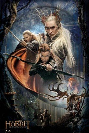 Der Hobbit - Smaugs Einöde, Tauriel, König Thranduil Und Legolas Poster (91 x 61cm): Amazon.de: Küche & Haushalt