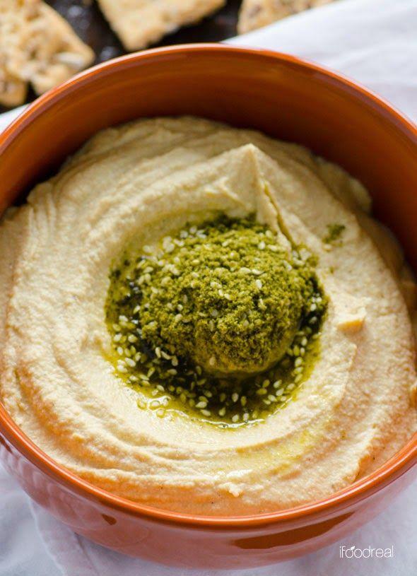 Веганский Нежданчик: Воздушный хумус с чесноком
