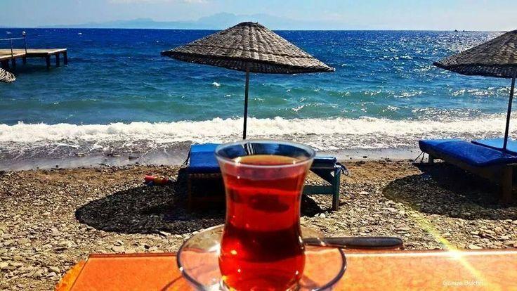 Sen bir çay demle sıcacık ... Ben tüm soğuk yanlarımı ; Elimi , Yüzümü , Gönlümü alıp geleyim ...  Mehmet Deveci