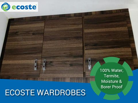 Enhance the Look of your ‪#‎Home‬ with Ecoste's ‪#‎Wardrobes‬ - http://www.ecoste.in/