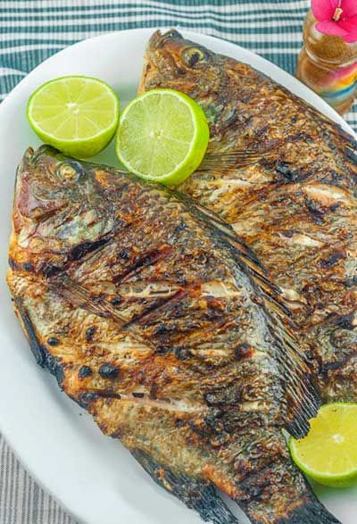 Easy Grilled Tilapia (Inihaw na Tilapia) recipe