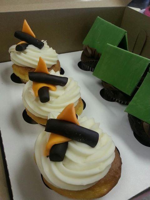 Camping Cupcakes
