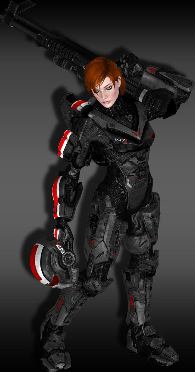 Shepard Halo Mod by AndrastesAss___©__!!!!