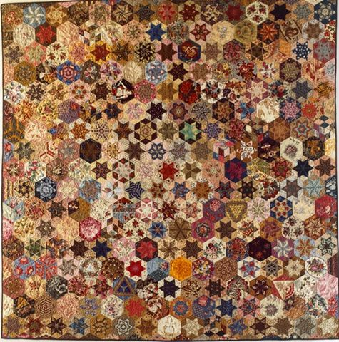 Kim McLean's Candied Hexagons