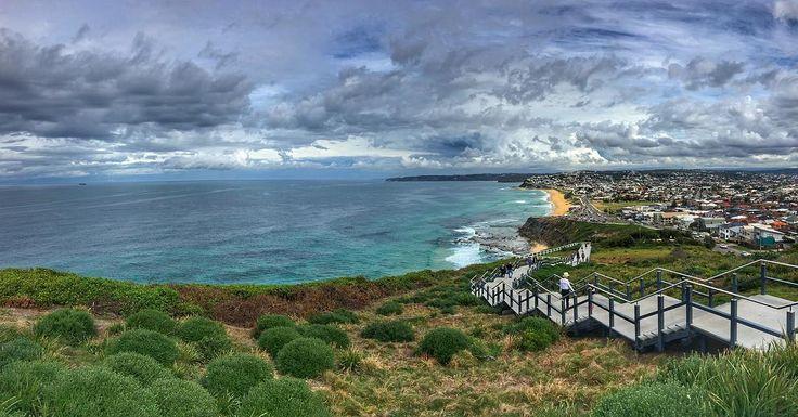 The Painted Clouds the vast ocean and the serene walk . . . . #travelbug #travelgram #ocean #beach #walk #ilovensw #ilovetravel #amazing #instamood #picoftheday #beautiful #instagood #iphoneonly #instacool #vscocam #night #nofilter #travel #wander #wanderlust #nomad #nsw #sydney #australia #snapsydney #wcw #cool #prag #nomaddairies #mumbaikar