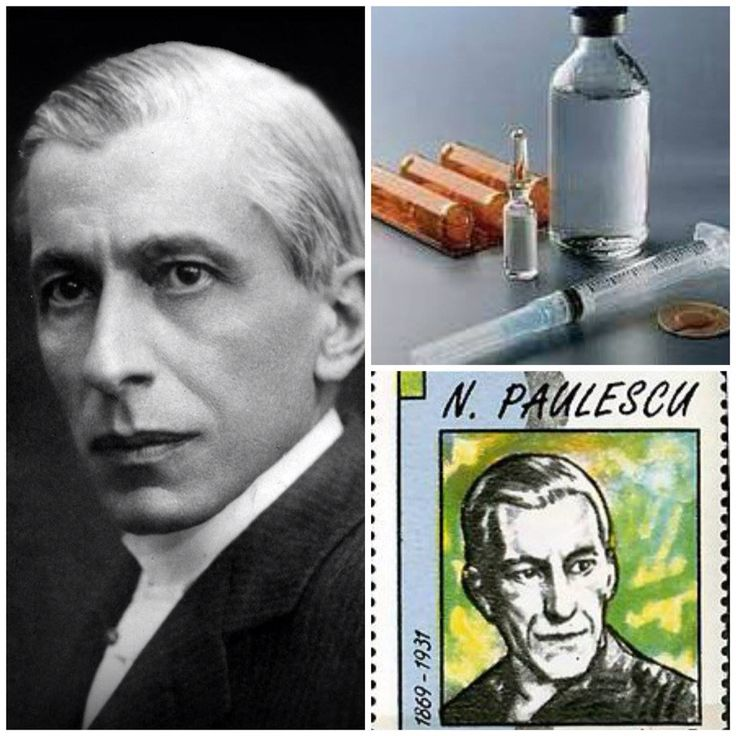 Nicolae Paulescu invented the insulin...proud that he was Romanian