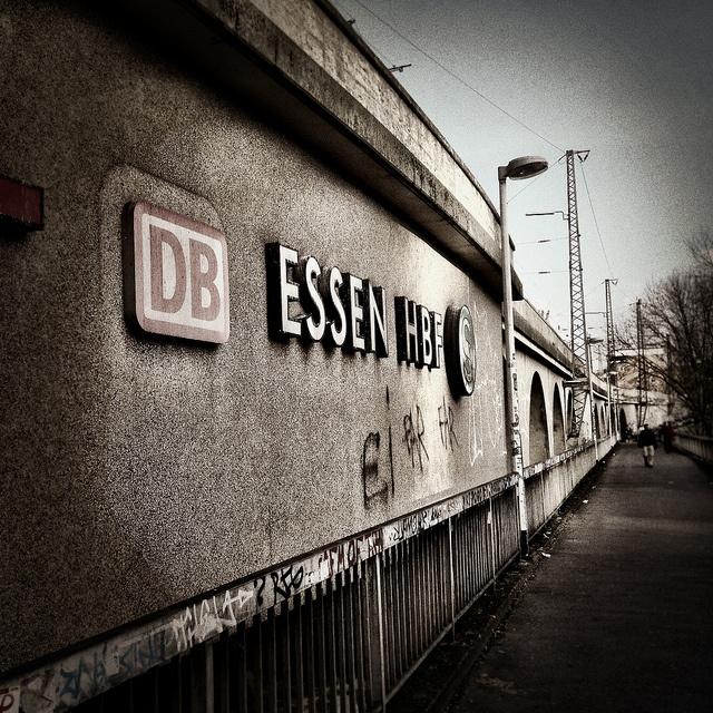 Essen Hauptbahnhof by Michael Sonnabend, via Flickr