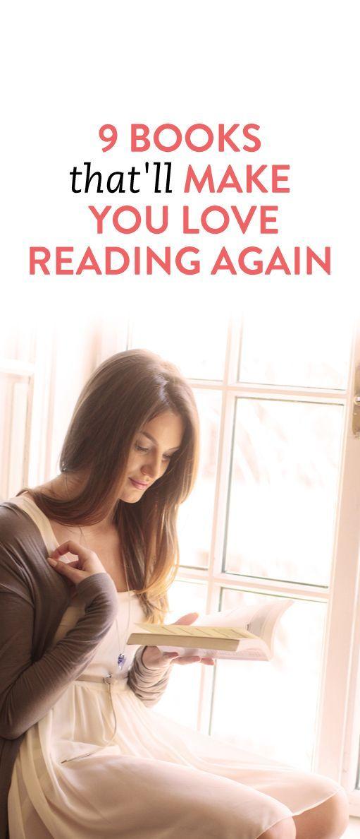 9 books that'll make you love reading again