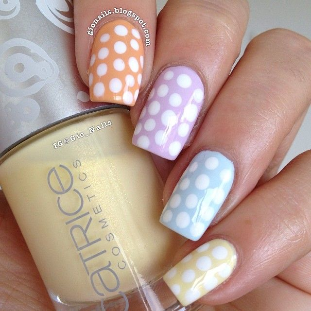 148 best circle nails & nail art gallery by nded images on ...
