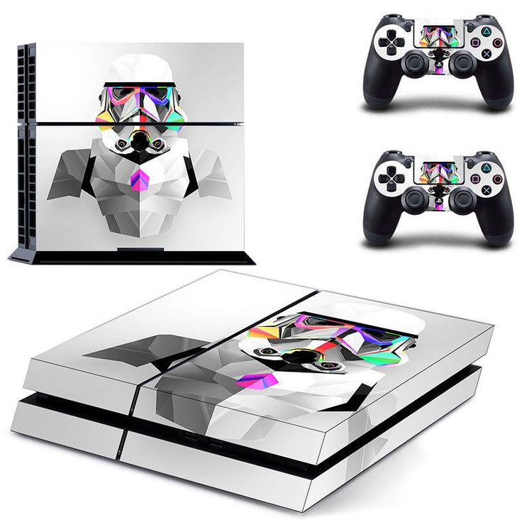 Movie Star War PS 4 Sticker PS4 Skin for Sony PS4 PlayStation 4 and 2 controller #BSKIN