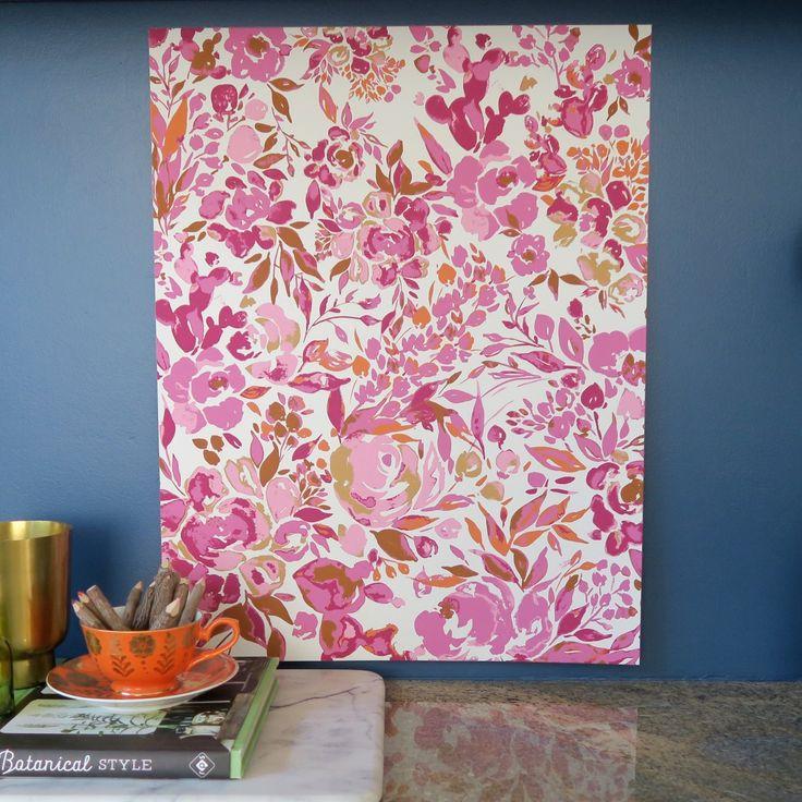 Plant Lady Pink watercolor art print by Bari J.