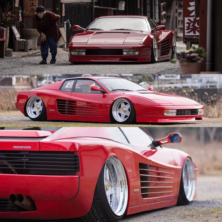 """16.6 mil curtidas, 210 comentários - LoweredLifestyle.com ◀️ (@loweredlifestyle) no Instagram: """"We think this #Ferrari #Testarossa is perfection but it seems that the internet is all up in arms…"""""""