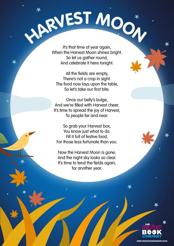 Free Harvest Poem
