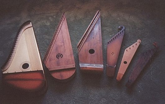 Finnish Kantele - musical instrument